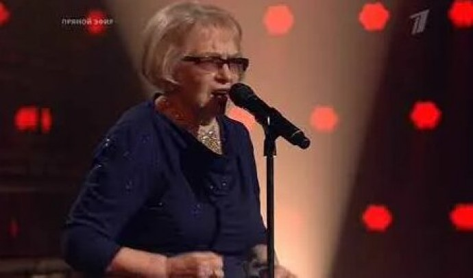 """The 91-year-old winner of the """"Voice 60+"""" show shared how she will spend the won million"""