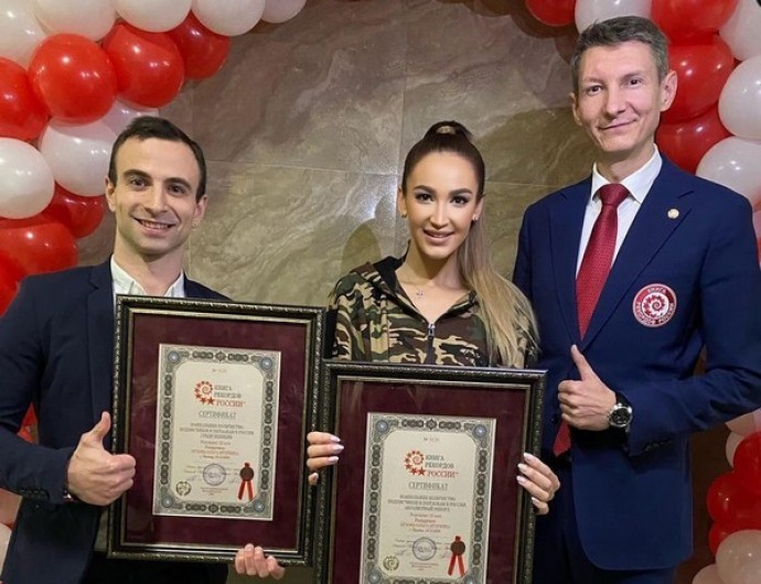 Olga Buzova broke a new record