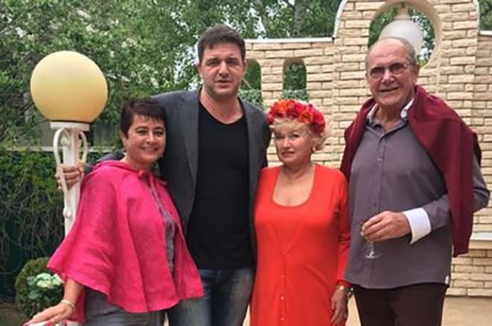 Жена Эммануила Виторгана высказалась о сложных отношениях с Максимом Виторганом
