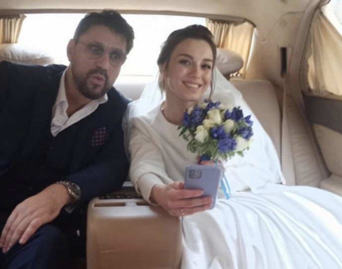 Victor Loginov married for the fourth time