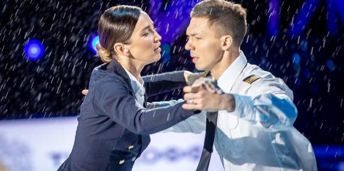 Ольга Бузова расплакалась из-за низких оценок жюри на ледовом шоу