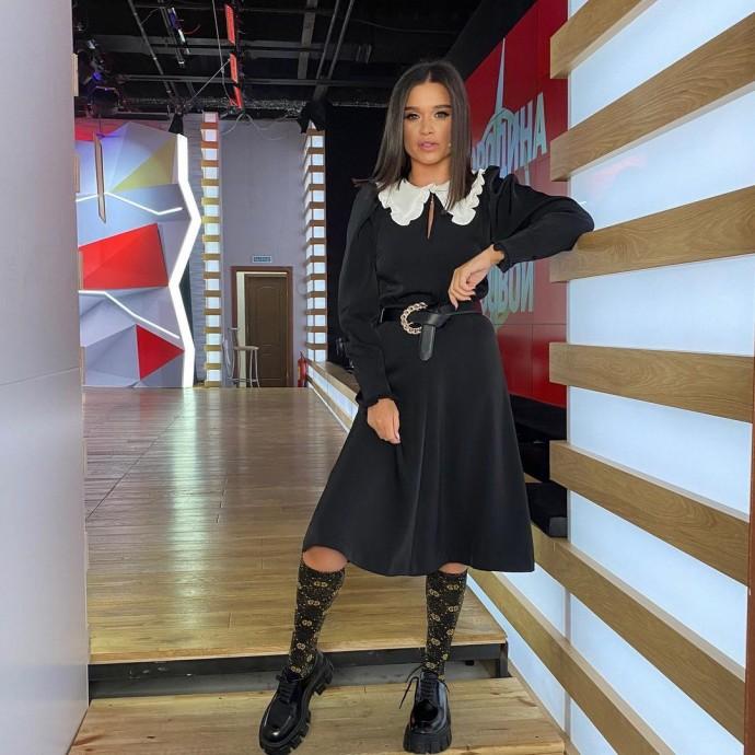Рейтинг дня: Ксения Бородина в образе школьницы обратилась к подписчикам
