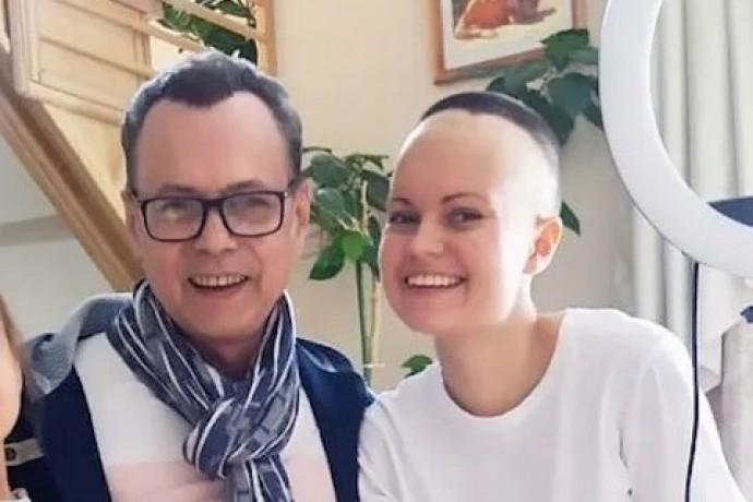 """Дочери экс-солиста """"На-На"""" Владимира Левкина удалили злокачественную опухоль мозга"""