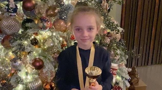 Дочь Татьяны Навки победила на детских соревнованиях по фигурному катанию
