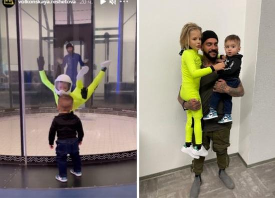 Тимати провёл день с детьми и с Анастасией Решетовой