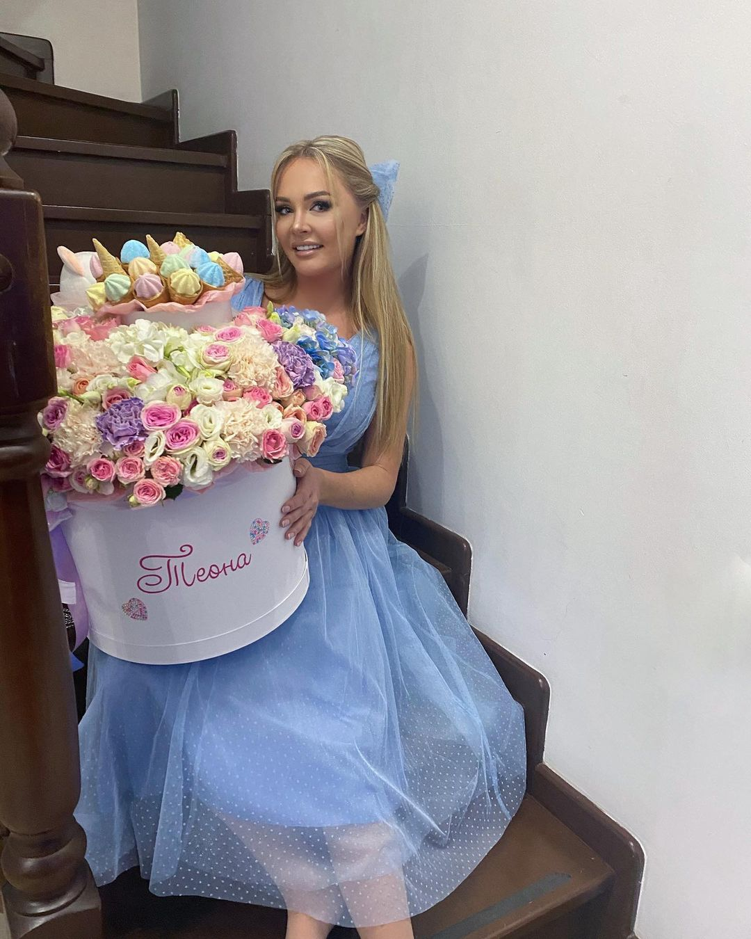 """Daria Pynzar criticized for """"out of date"""" at the holiday at Ksenia Borodina"""
