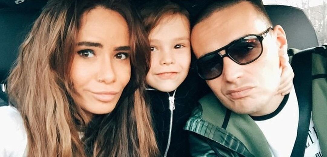 The son of Aiza Dolmatova and Guf presented his debut track