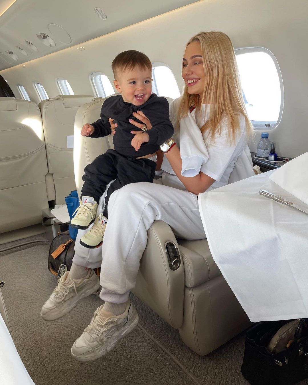 Natalia Rudova flew away to rest with her son Timati