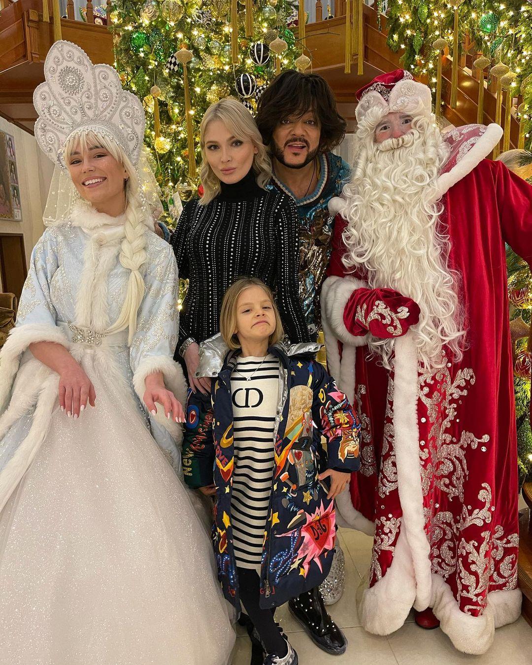 Timati celebrated the new year with Alena Shishkova