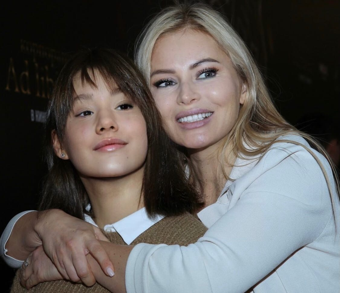 Dana Borisova spoke about her daughter's relationship with her father