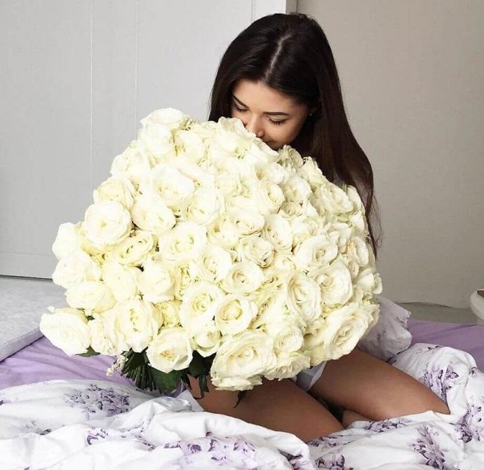 Как подарить цветы близкому человеку, который находится далеко