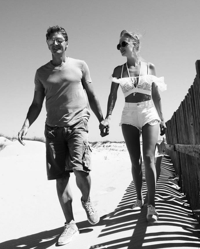 Фёдор Бондарчук стал автором романтичной фотосессии Глюкозы с мужем