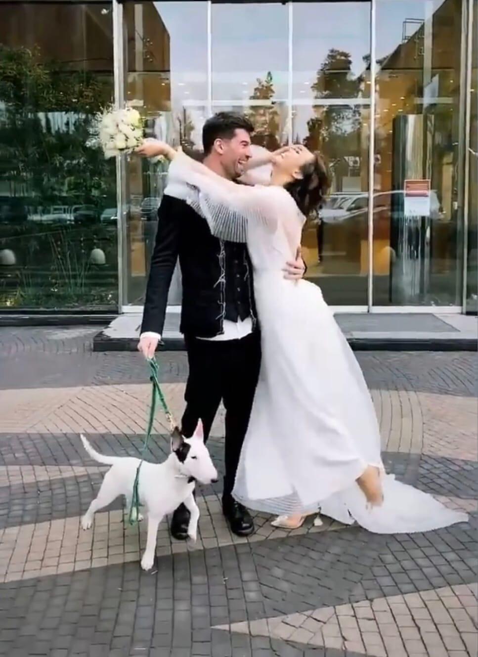Алина Астровская вышла замуж