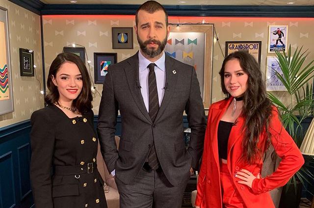 На фоне слухов о вражде Евгения Медведева и Алина Загитова появились вместе в популярном шоу