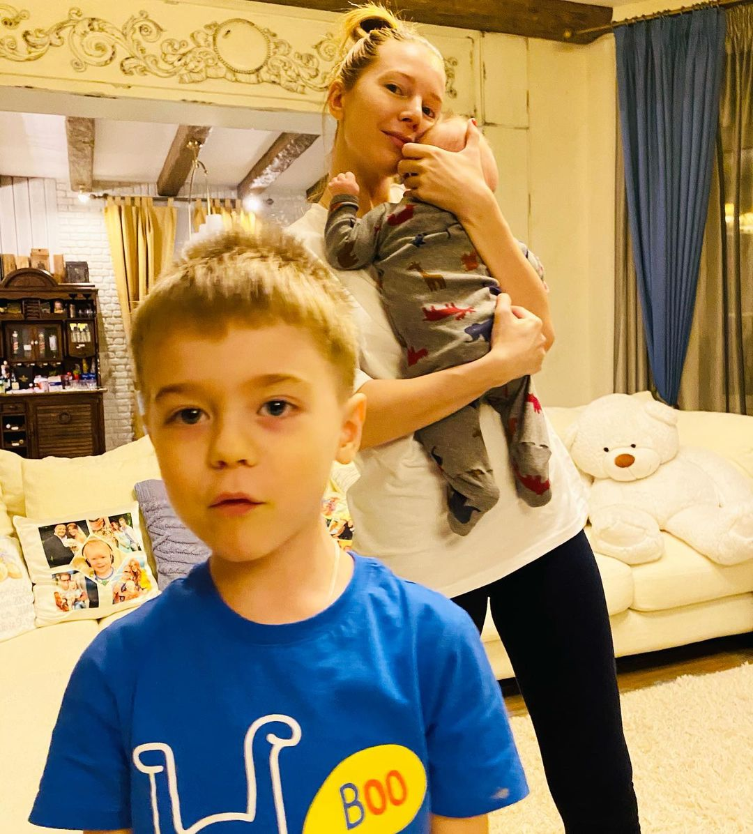 Наталья Подольская похвасталась поразительным сходством с сыном