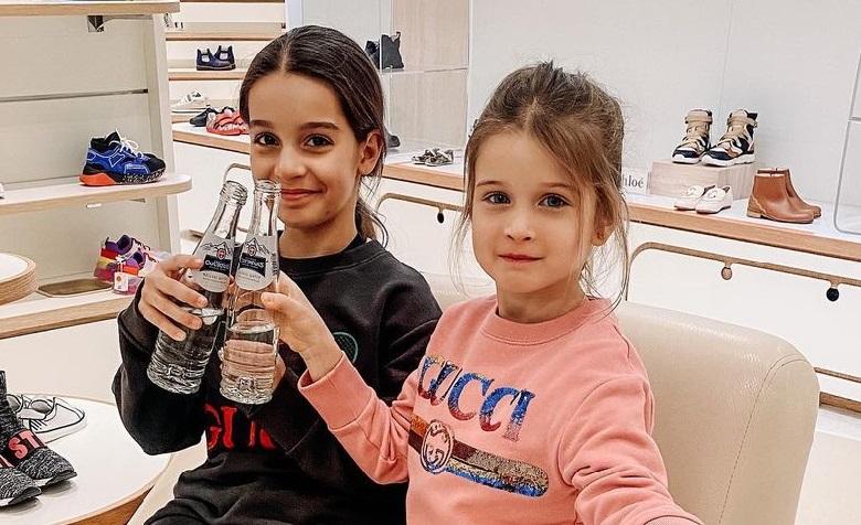 Ксения Бородина подарила 5-летней дочери брендовую норковую шубу