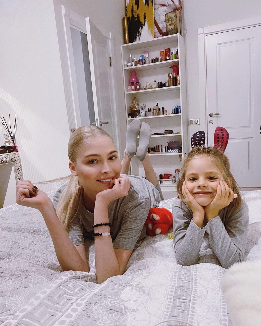 Alena Shishkova answered ambiguously why she does not take her daughter on vacation with her