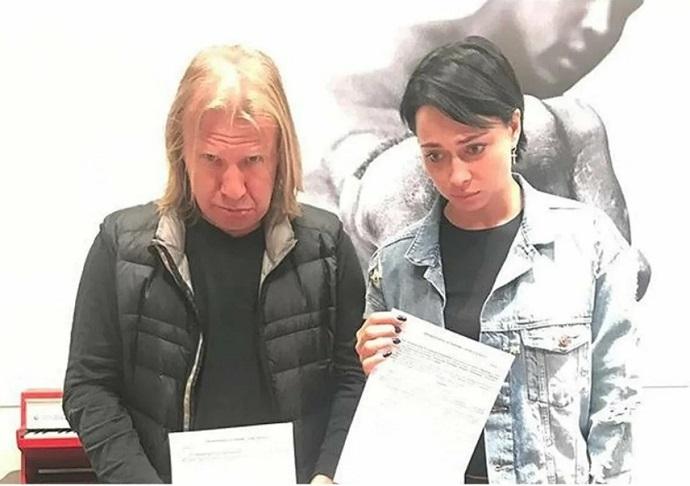 Виктор Дробыш выставил Настасье Самбурской счет на взыскание убытков
