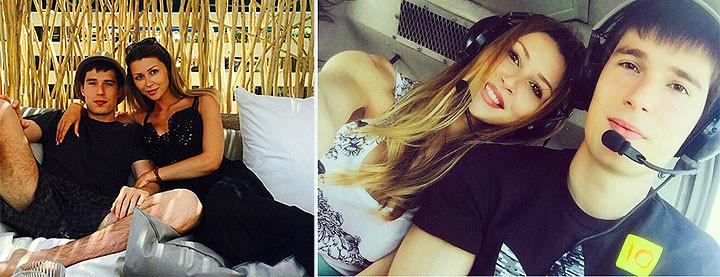 Анна Заворотнюк отдыхает в Дубае с сыном чеченского миллионера