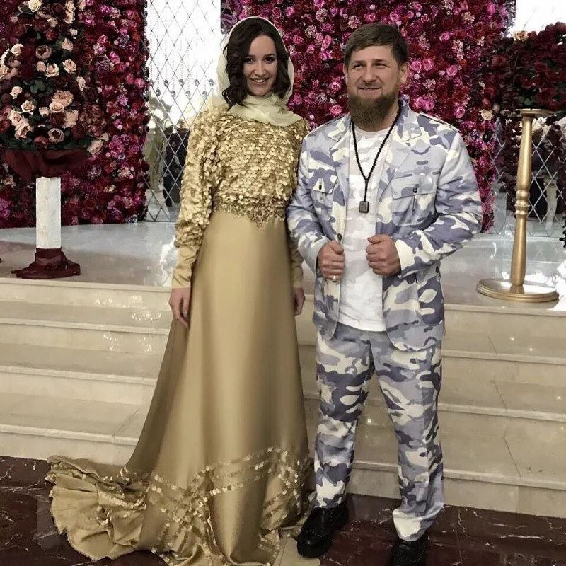 Olga Buzova's suitor turned out to be a close friend of Ramzan Kadyrov