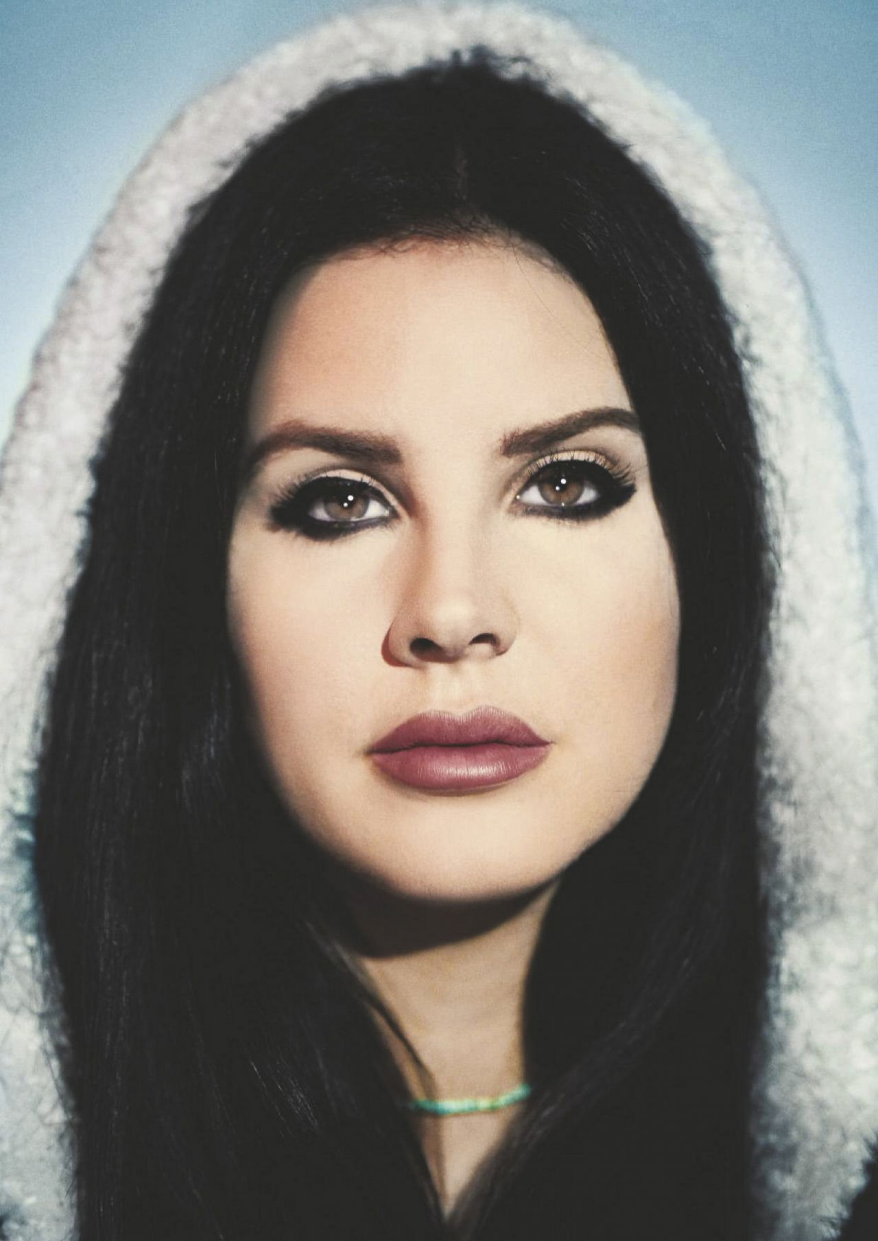 Lana Del Rey, thinner, starred for the first time in a long time