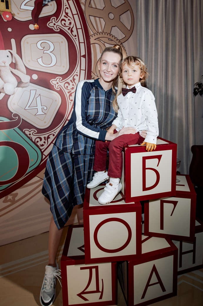 Lera and Artem Chekalins gave their children a Toy Factory for their birthday