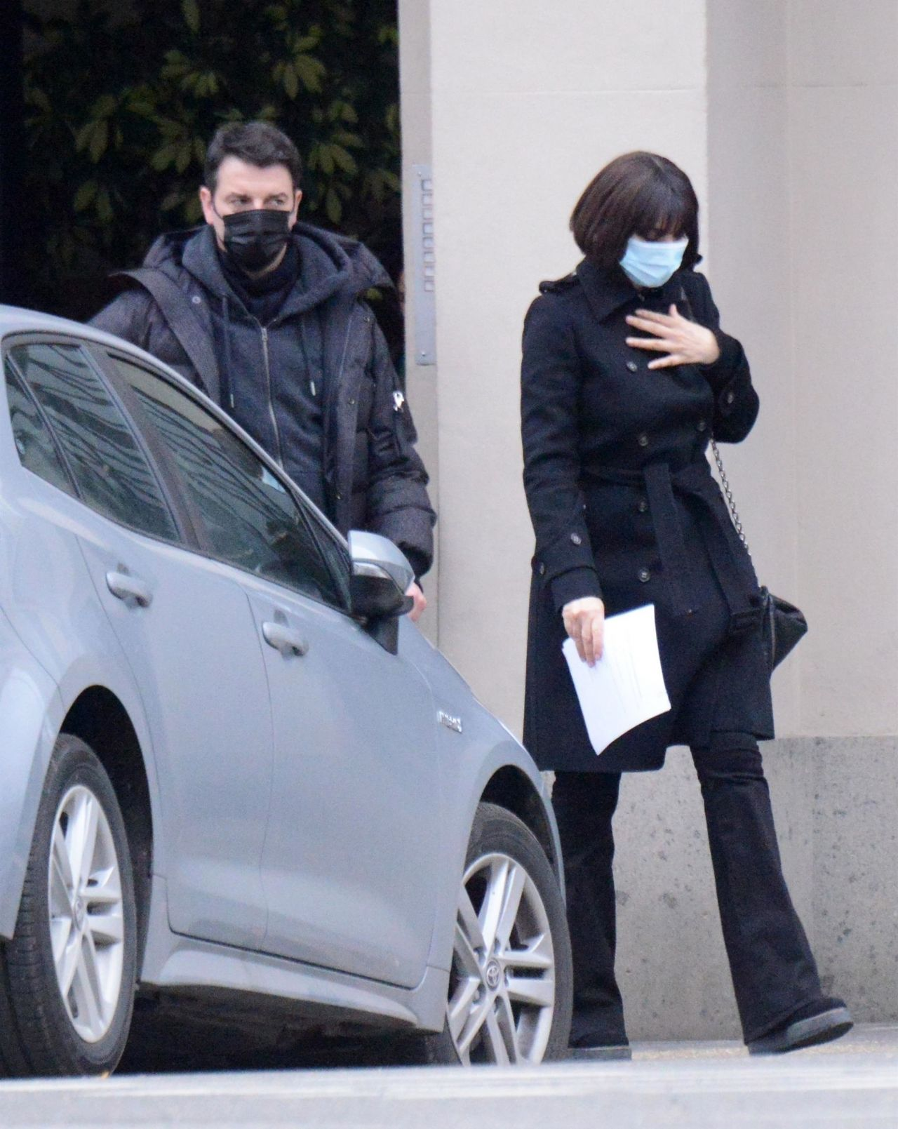 Папарацци заметили Монику Беллуччи на съёмках нового фильма