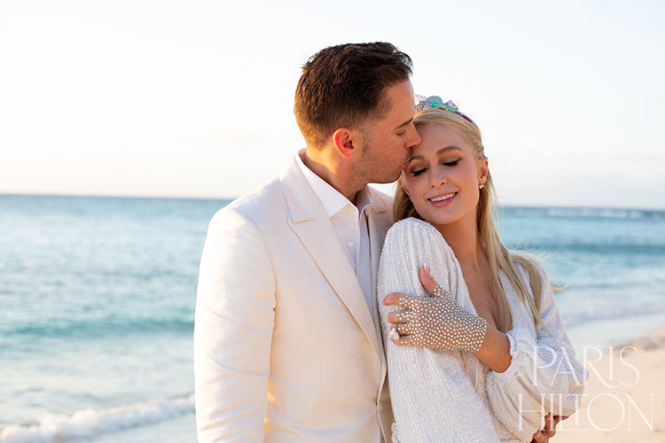 Paris Hilton is getting married