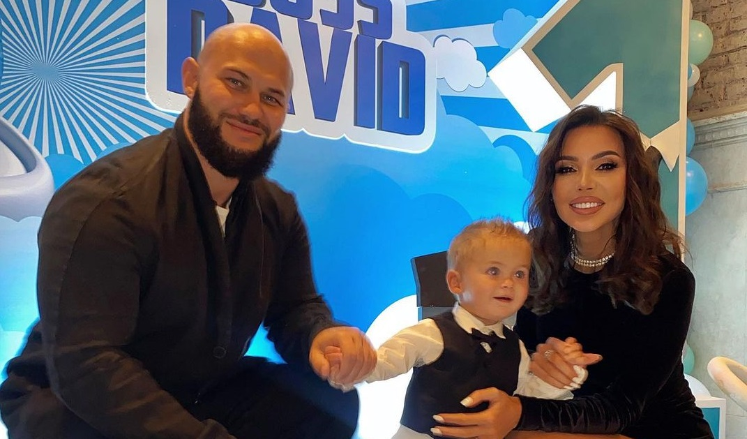 Oksana Samoilova's son celebrated his first birthday in a suit from Armani for 28 thousand rubles