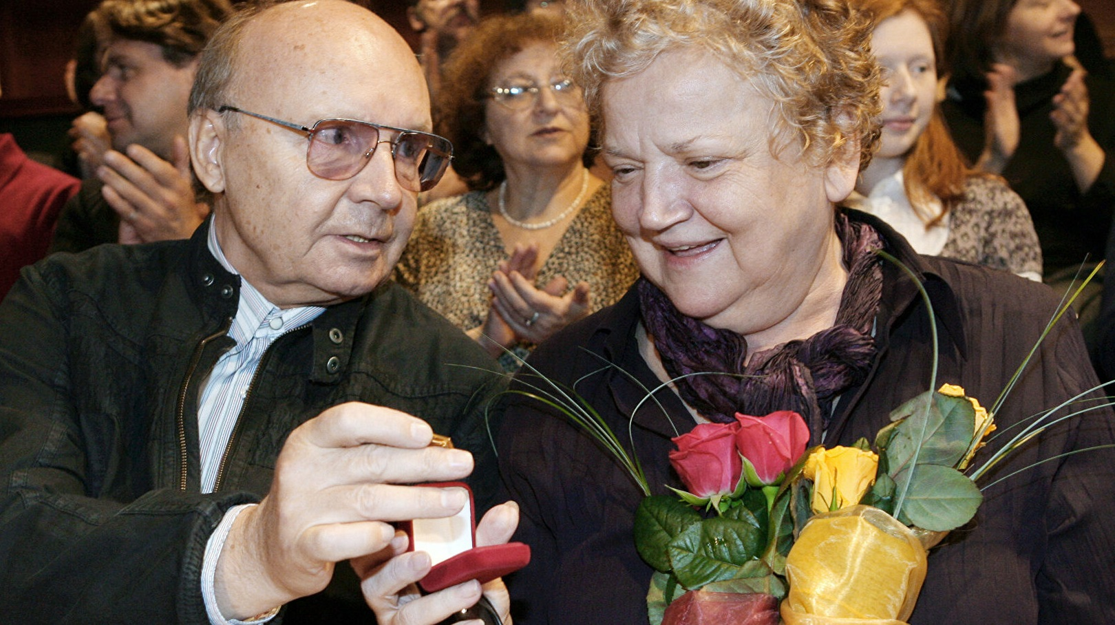 Andrey Myagkov's widow did not come to her husband's funeral
