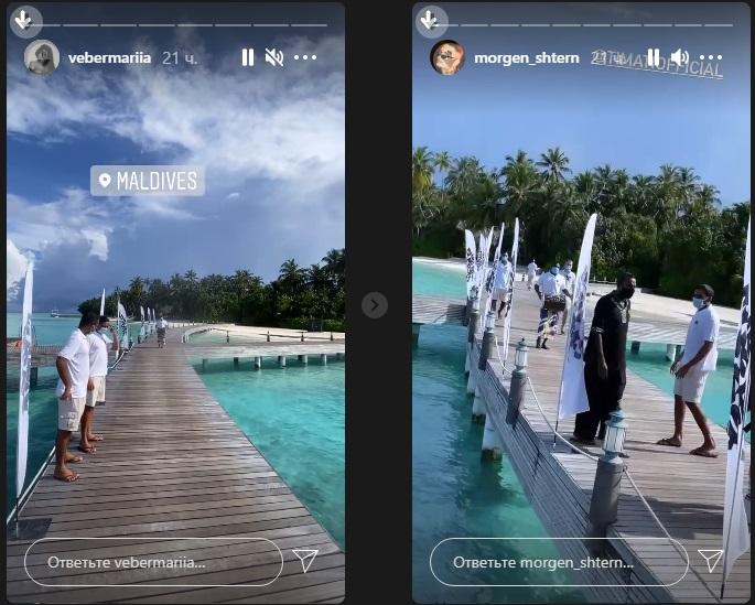 Тимати уже тусит со своей невестой из «Холостяка» на Мальдивах