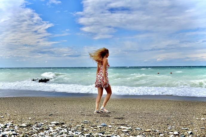 «Дай мне, море»: Любава Трофимова нашла ответ на вопрос у кого просить сил
