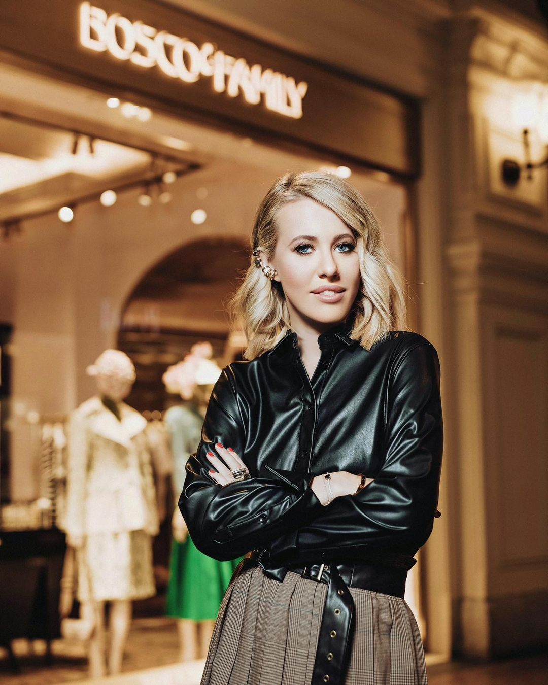Why the construction of the house of Ksenia Sobchak stopped