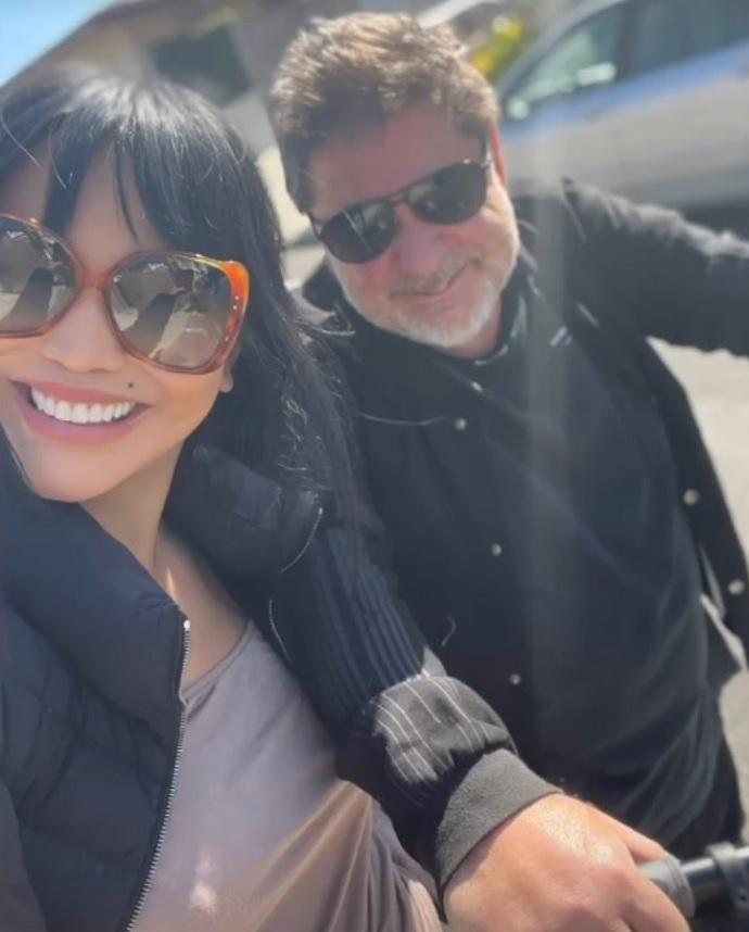 Дарина Эрвин заставила Александра Цекало пересесть на велосипед