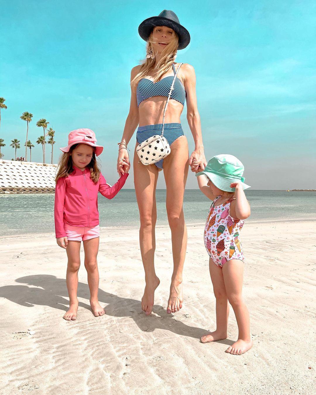 Anna Khilkevich explained why so thin