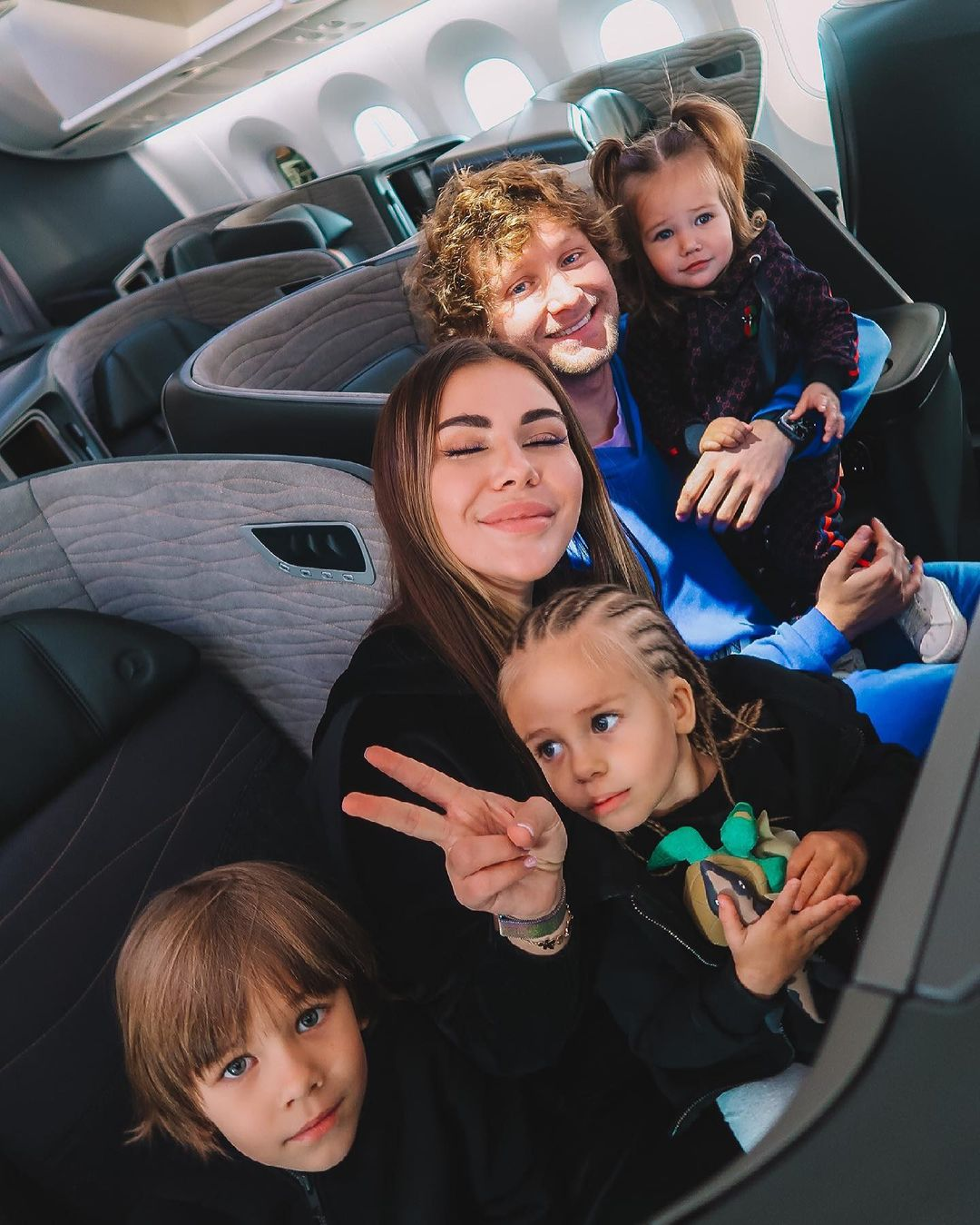 How Sofia's new boyfriend Stuzhuk punished her son for a prank