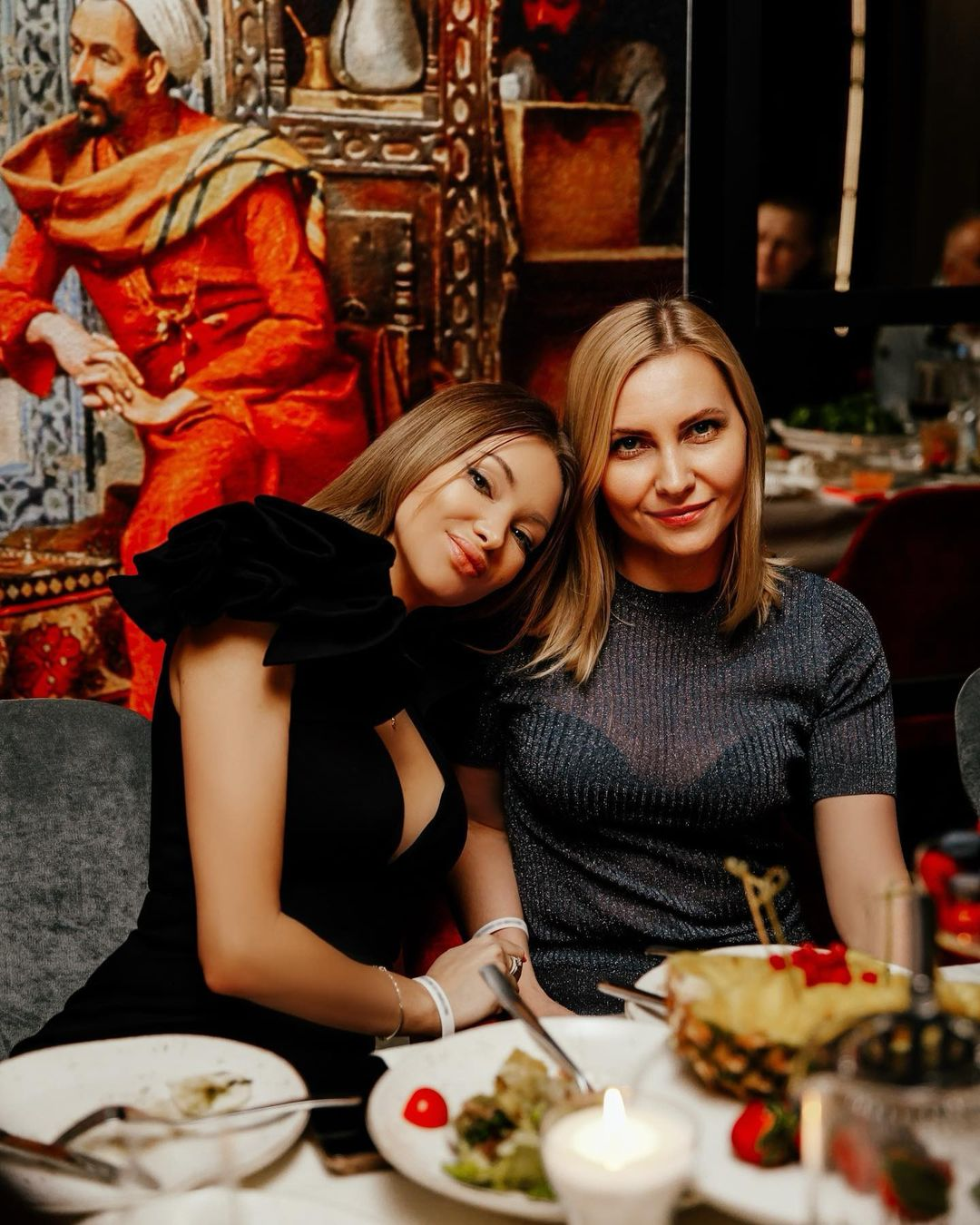 Evgenia Feofilaktova for the first time in a long time posted a photo of her loved one on the blog