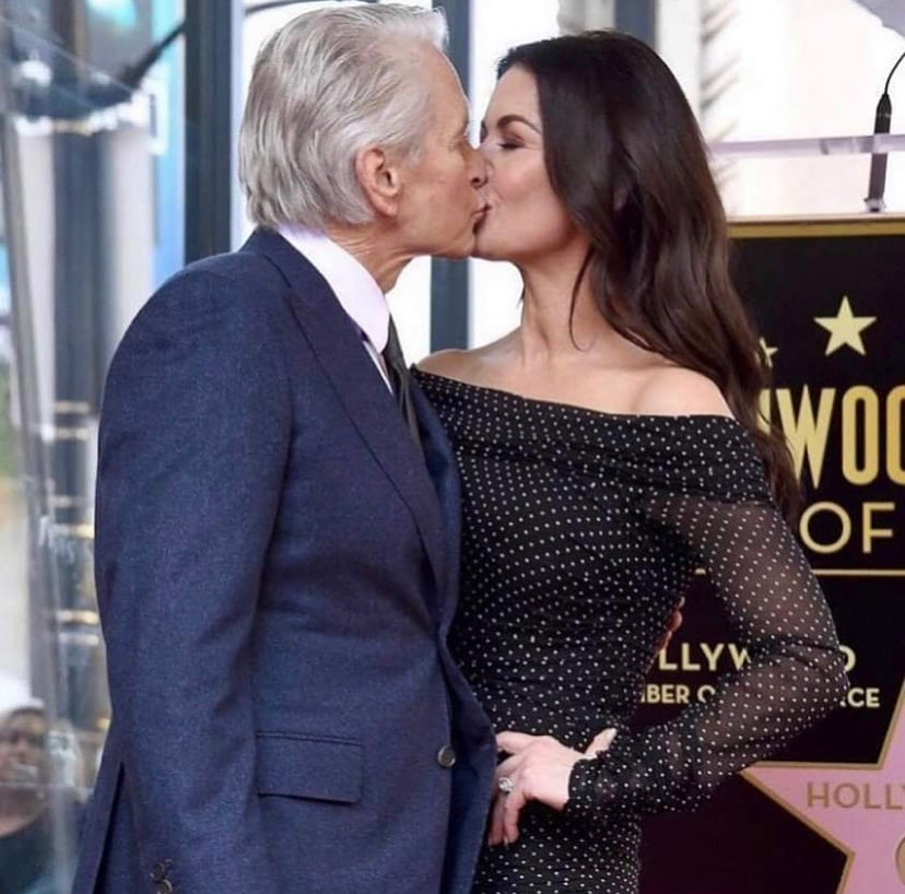 74-year-old Michael Douglas touchingly congratulated his daughter on the age of majority