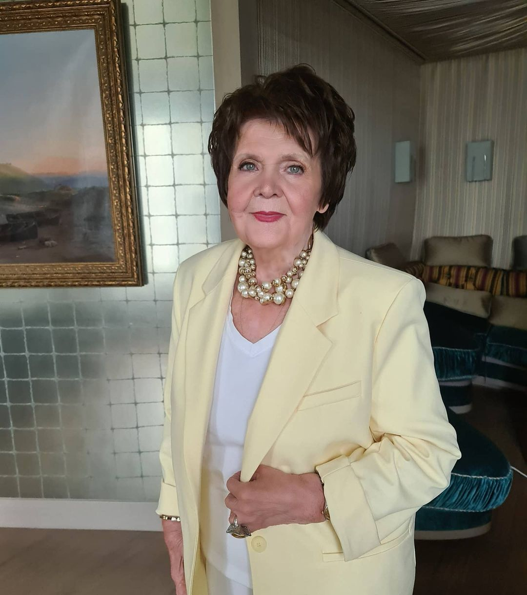 """""""Первая встреча!"""": Валерия сделала подарок своей матери на 83-й день рождения"""