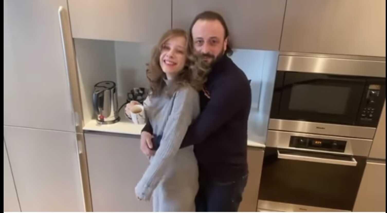 Liza Arzamasova is pregnant