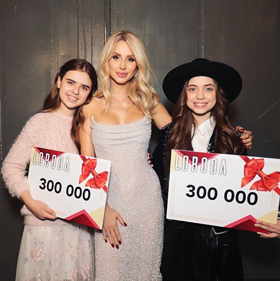 """Svetlana Loboda presented her personal prize to the participants of the project """"Voice. Children"""""""