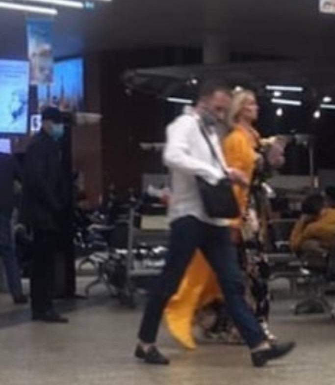 The mysterious lover of Anastasia Volochkova got into the photo of a random passer-by