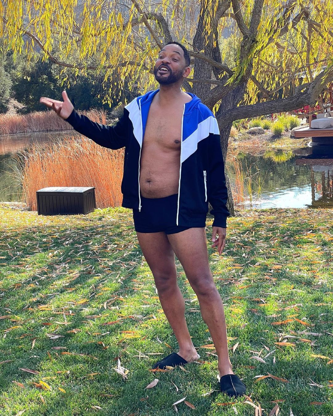 """What a belly"": Will Smith showed himself in the worst shape"