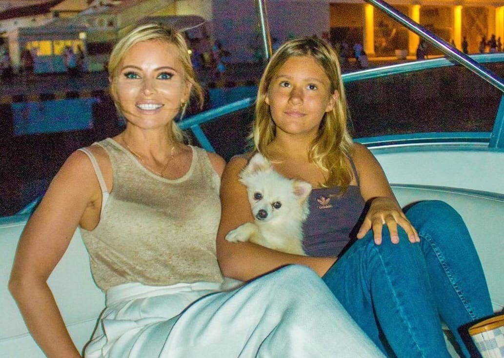 Why did Dana Borisova's daughter hurt herself?