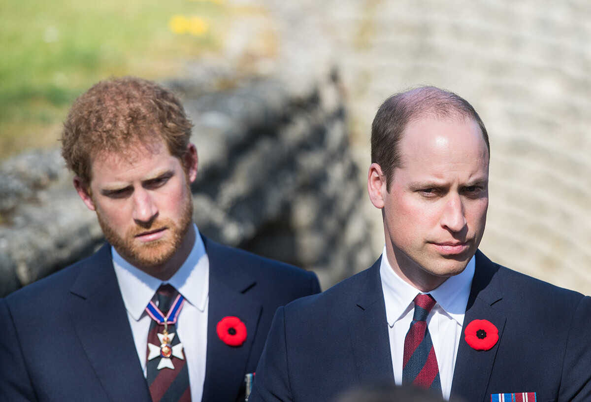 Why Princes Harry and William refused to speak together at the unveiling of the Princess Diana monument