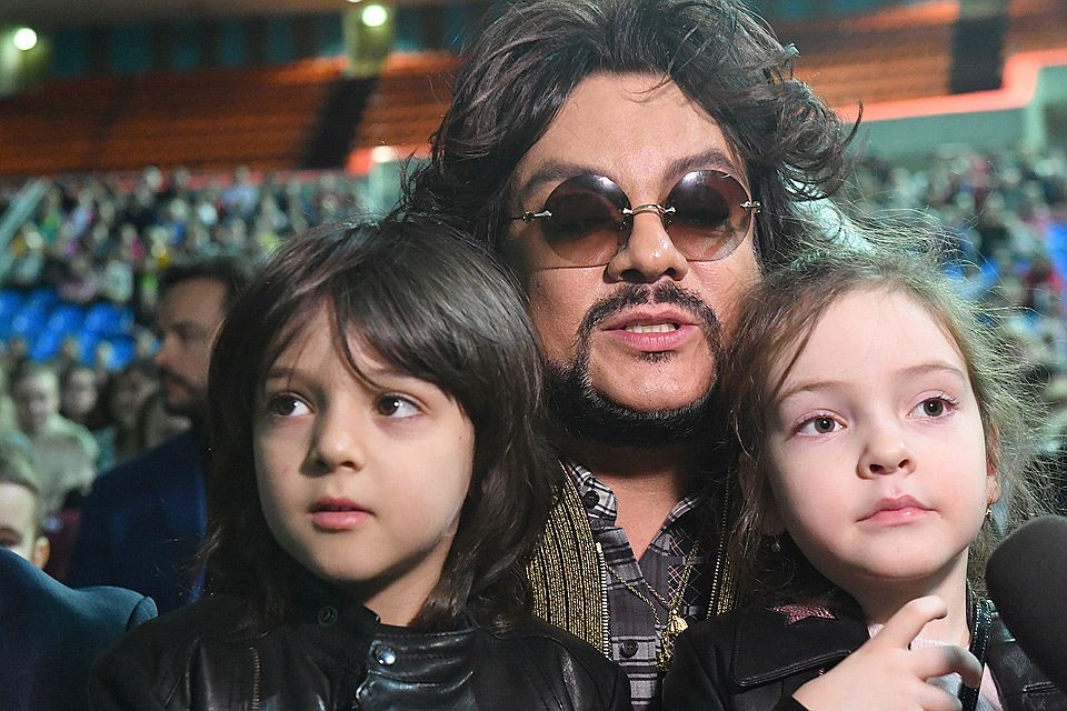 What phobia did Philip Kirkorov convey to his son?