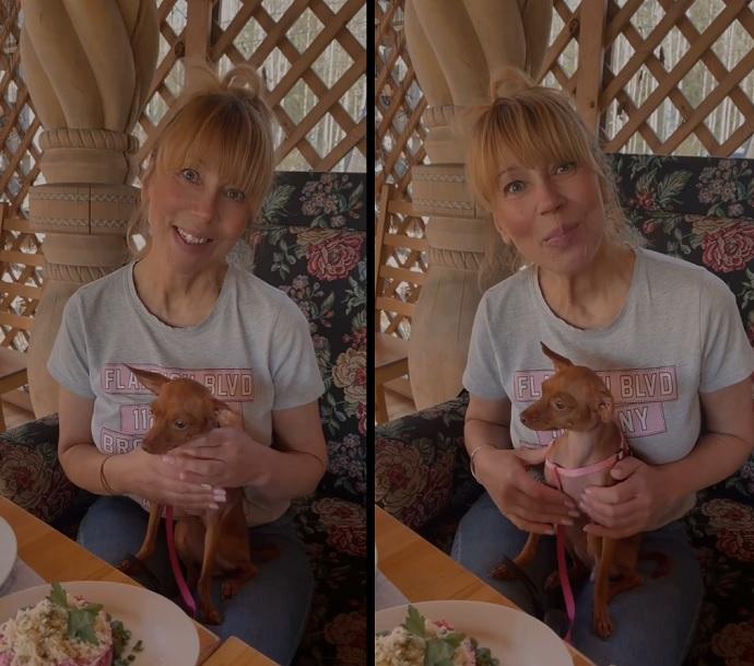 Яна Кошкина показала свою моложавую маму