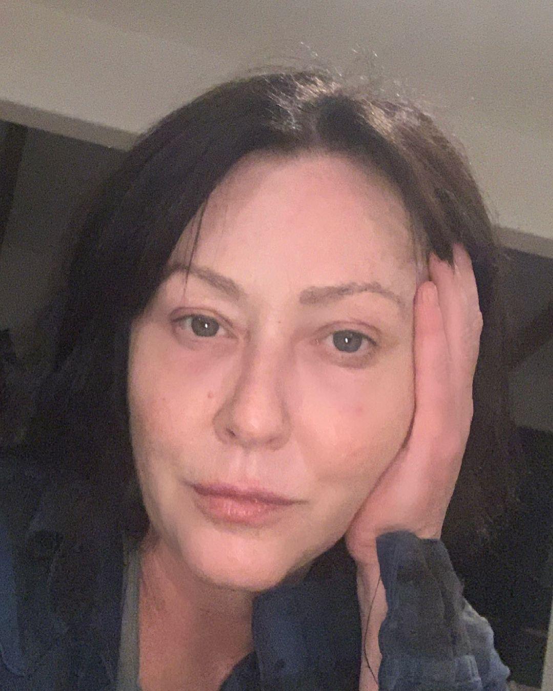 Больная раком Шеннен Доэрти отказалась от изменений своей внешности