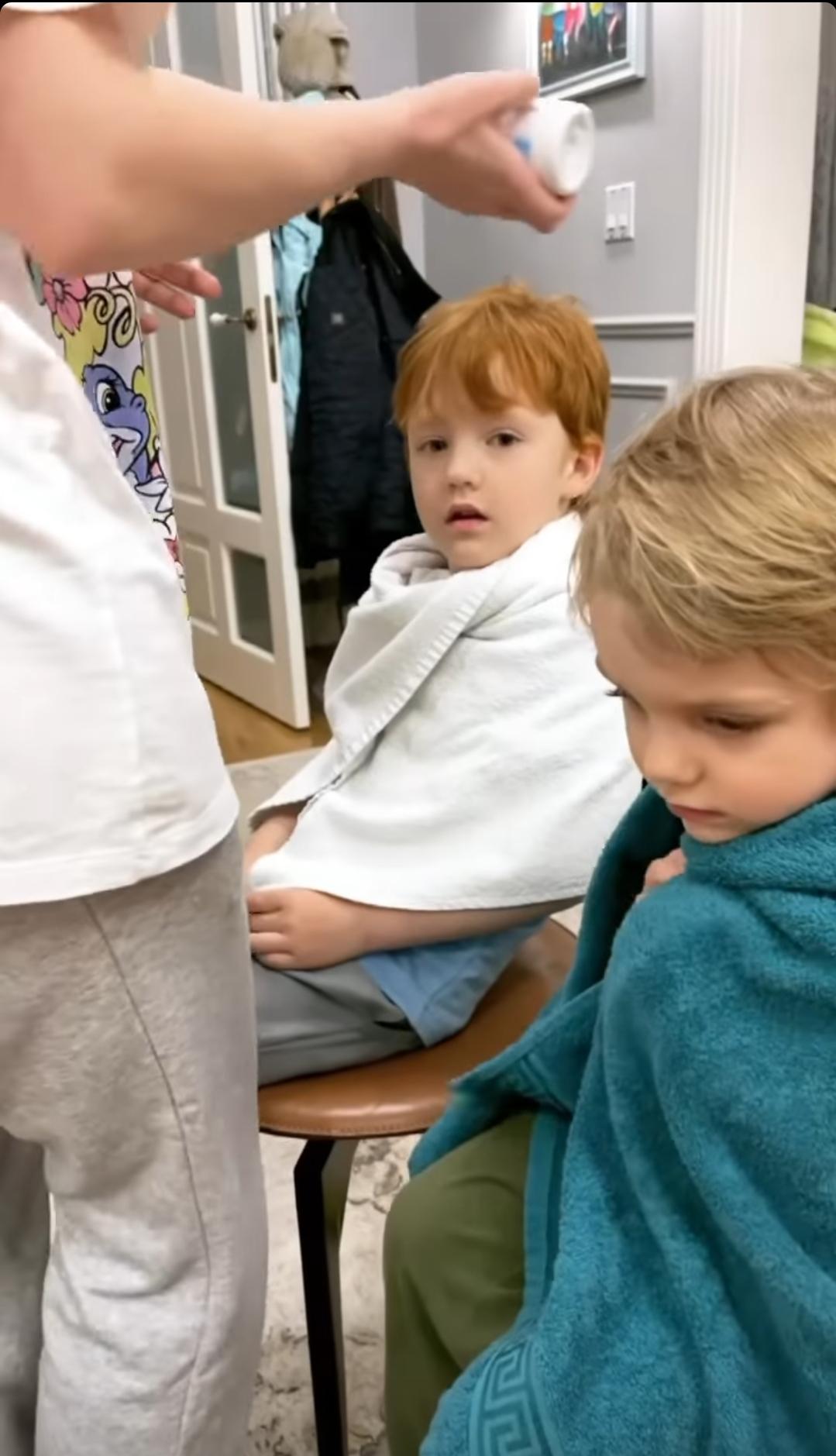 Дети Галины Боб принесли в дом серьёзную заразу