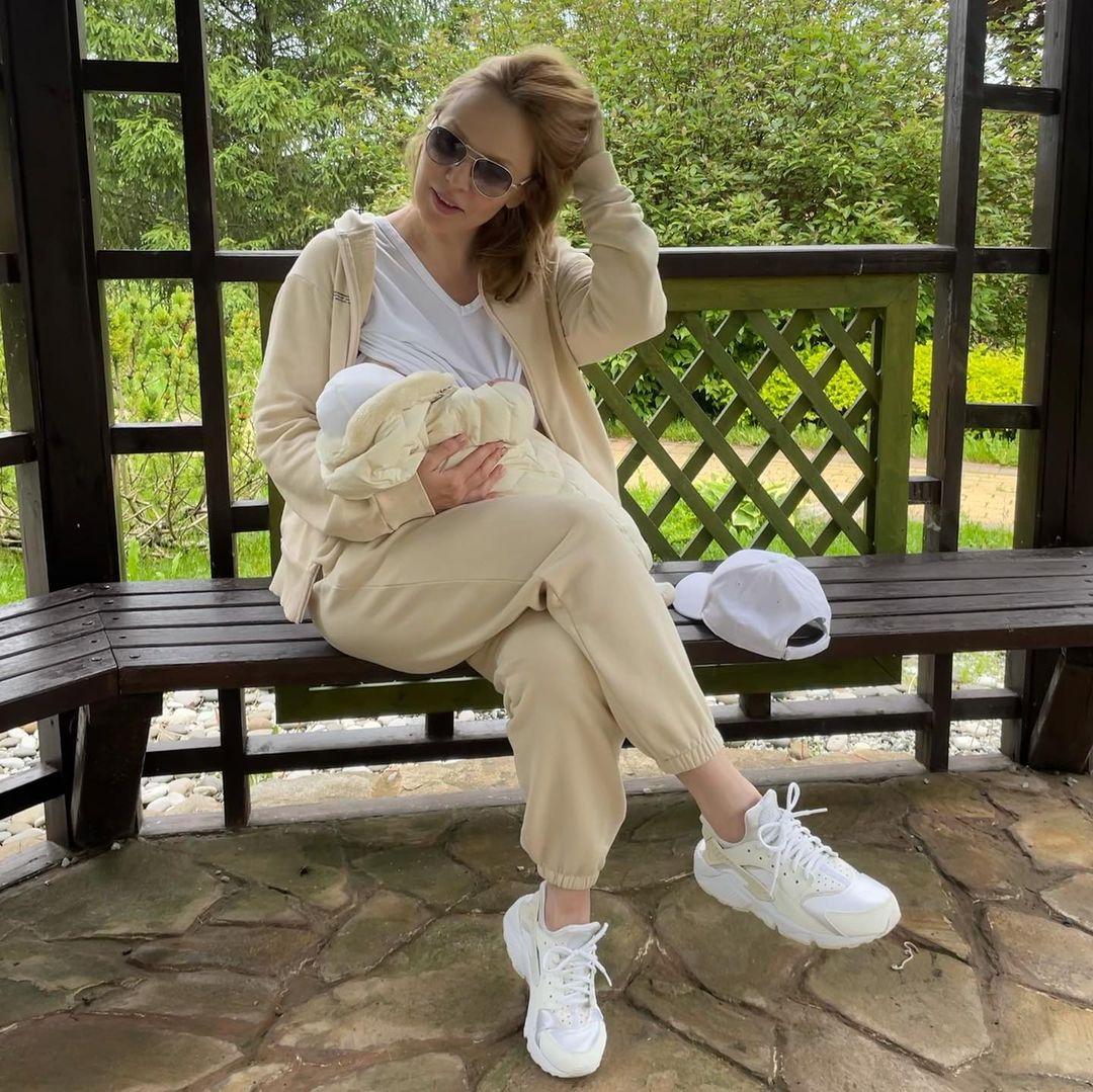 Альбина Джанабаева призналась, что Валерий Меладзе присутствовал на её родах